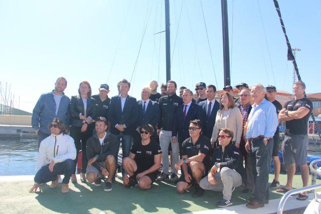 San Pedro del Pinatar acoge al equipo Ineos UK que prepara en el Mar Menor su participación en la Copa América de vela - 3, Foto 3