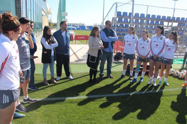 La Selección Española Femenina sub19 de fútbol se concentra en San Pedro del Pinatar - 1, Foto 1
