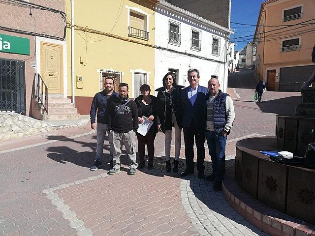 Ciudadanos da un nuevo impulso al arreglo del tramo de la RM-B30 de Benizar - 1, Foto 1