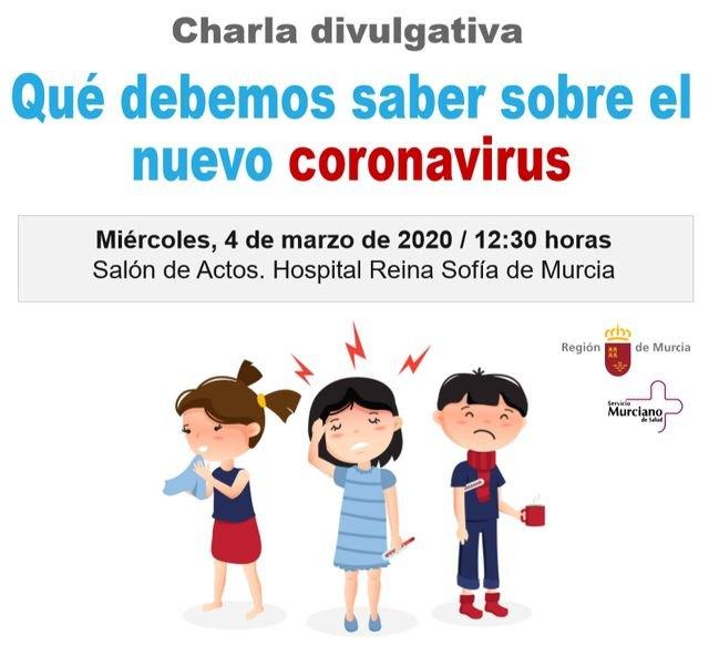 Cruz Roja organiza una charla divulgativa para voluntariados y población general sobre el Coronavirus
