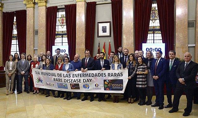 El Pleno de Murcia se une para dar visibilidad a las enfermedades raras - 1, Foto 1