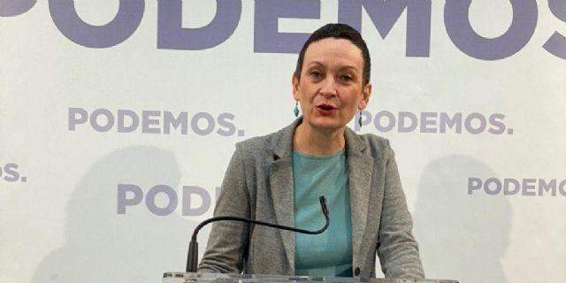 María Marín: El mismo Gobierno Regional que culpa de todos los males a la financiación, va a devolver 4 millones a Europa por no ejecutar políticas para las personas más vulnerables - 1, Foto 1