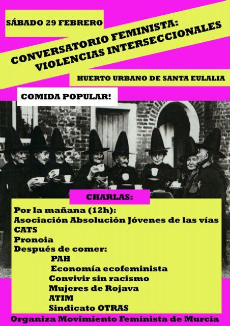 Acciones y actividades programadas en torno al 8M por el Movimiento Feminista de Murcia - 1, Foto 1