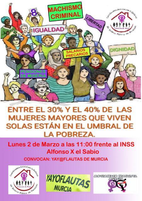 Acciones y actividades programadas en torno al 8M por el Movimiento Feminista de Murcia - 2, Foto 2