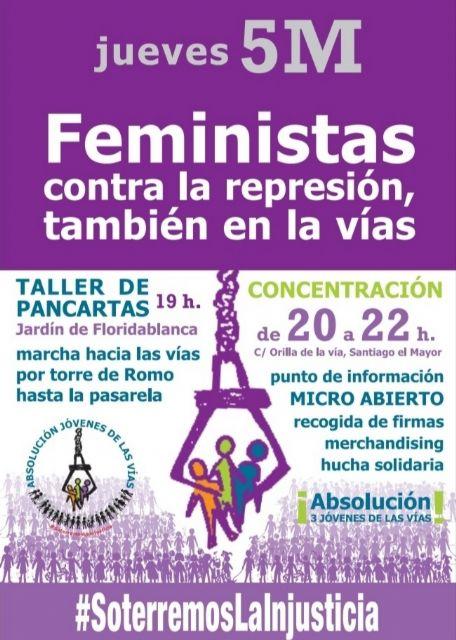 Acciones y actividades programadas en torno al 8M por el Movimiento Feminista de Murcia - 5, Foto 5