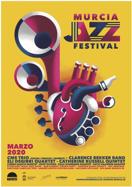 El Murcia Jazz Festival arranca este fin de semana con un pasacalles a cargo de la Dixieland Train Jazz Band - 2, Foto 2