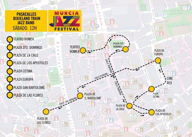 El Murcia Jazz Festival arranca este fin de semana con un pasacalles a cargo de la Dixieland Train Jazz Band - 3, Foto 3