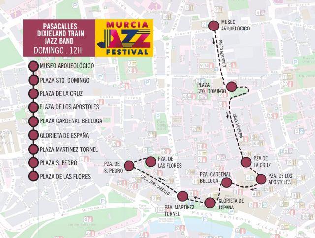 El Murcia Jazz Festival arranca este fin de semana con un pasacalles a cargo de la Dixieland Train Jazz Band - 4, Foto 4