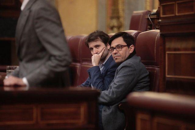 Javier Sánchez Serna lleva hasta el Congreso de los Diputados las quemas ilegales en la Región de Murcia - 1, Foto 1