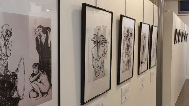 El Centro Cultural de Lorca acoge la exposición 'Santa Clara Art Exhibition' realizada por jóvenes artistas centrados en el desarrollo de la cultura urbana y el mundo del patín - 2, Foto 2