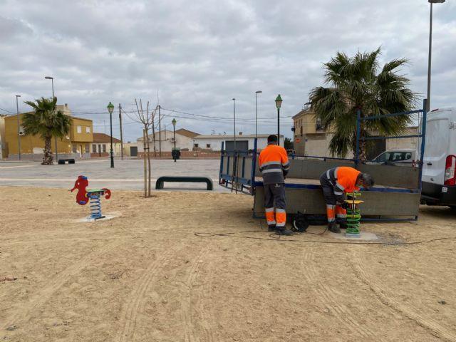 Nuevos Juegos Infantiles en el Jardín Villalobos de Lo Ferro - 1, Foto 1