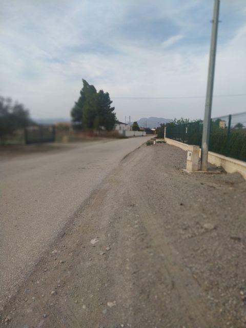 El Ayuntamiento de Puerto Lumbreras instalará alumbrado público en el camino Motores de Payá de la pedanía de El Esparragal-La Estación - 2, Foto 2