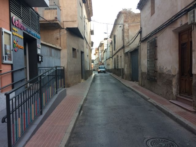 The act of nomination of the street Celia Carrión Pérez de Tudela, in the urban section of the street San Cristóbal that initially had been considered is suspended