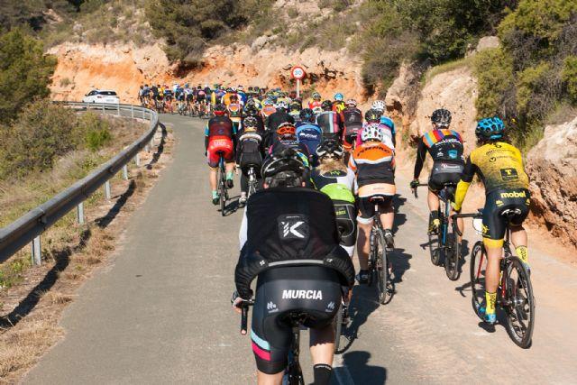 La marcha ciclista La Mobel Sierra Espuña congrega a 400 ciclistas en su segunda edicion, Foto 5
