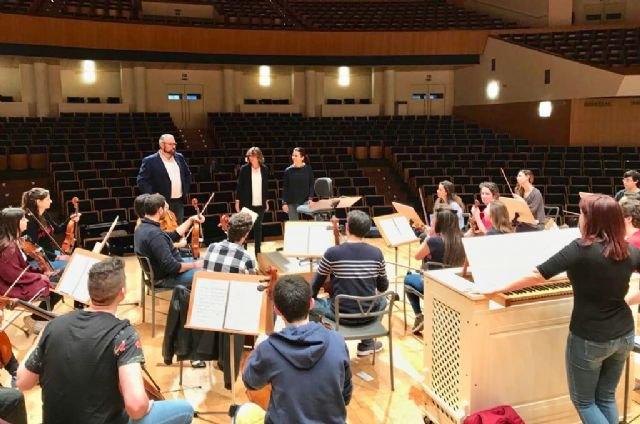 La Orquesta de Jóvenes de la Región de Murcia interpreta el ´Stabat Mater´ de Pergolesi esta semana en Murcia y Alcantarilla - 1, Foto 1
