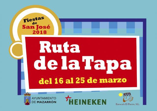 Listado de ganadores del sorteo de la Ruta de la Tapa de las Fiestas de San José, Foto 1