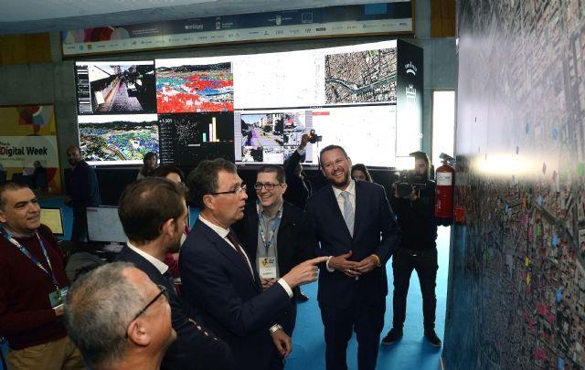 La Digital Week expone el prototipo de CEUS, el cerebro de Murcia Smart City - 4, Foto 4