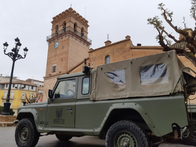 BRIPAC military support in control and awareness work on public roads and containment of commercial activity, along with the Civil Guard and Local Police