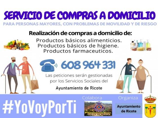 Servicio de compras a domicilio en Ricote - 1, Foto 1