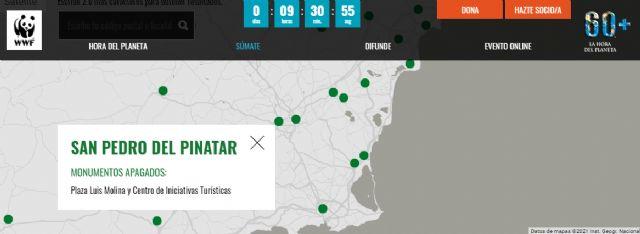 San Pedro del Pinatar se suma otro año más a la iniciativa medioambiental La Hora del Planeta - 2, Foto 2
