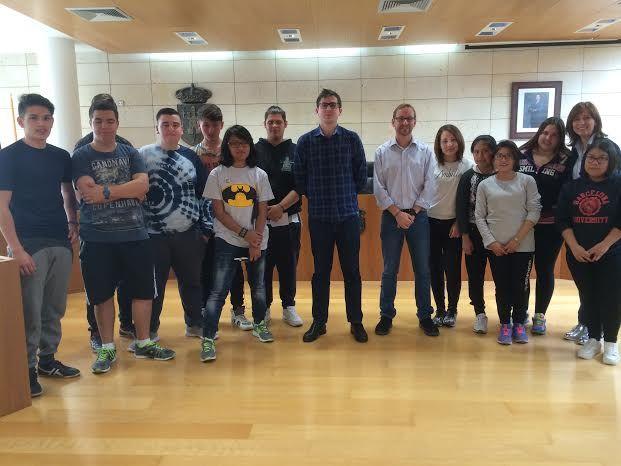 Alumnos del PMAR de la ESO del Colegio
