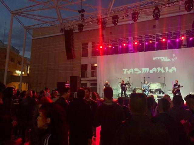 Gran éxito de público en el Festival 'Actitud Rock' en honor a Ángel Rosique - 2, Foto 2