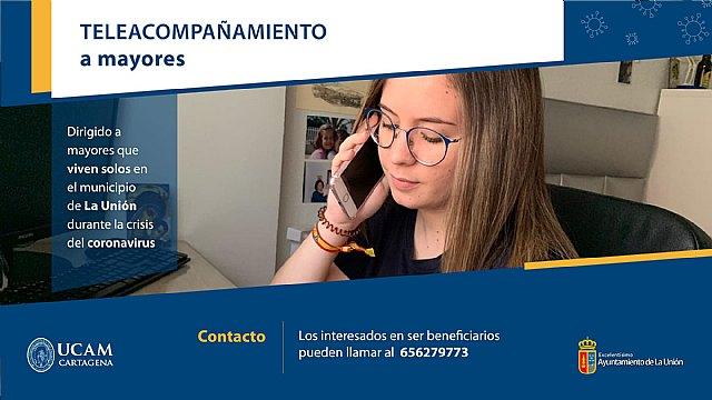 Teleacompañamiento para mayores que viven solos - 1, Foto 1