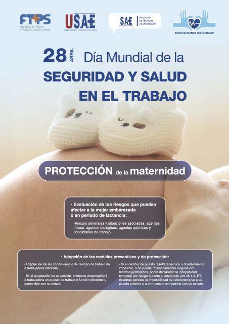 SAE celebra el Día Mundial de la Seguridad y Salud en el Trabajo - 1, Foto 1