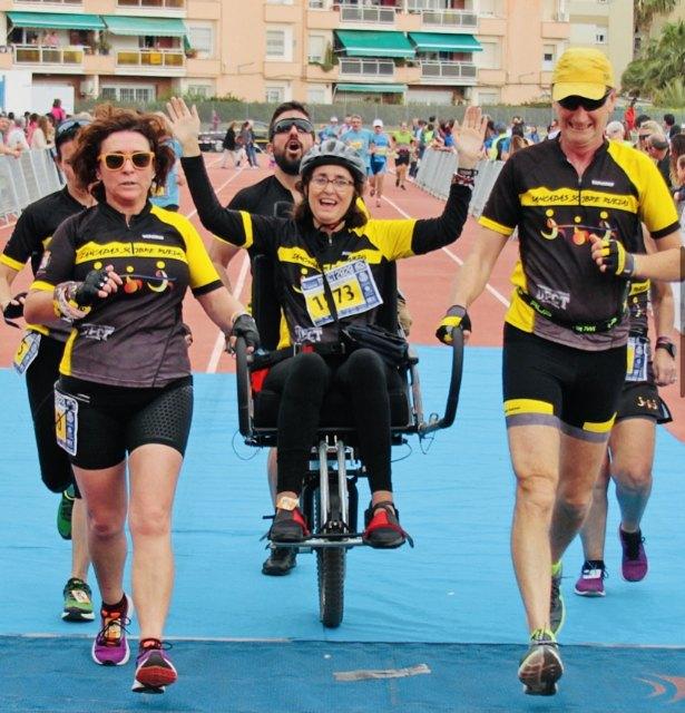 Cieza colabora con Zancadas sobre ruedas para la realización de una ruta inclusiva - 1, Foto 1