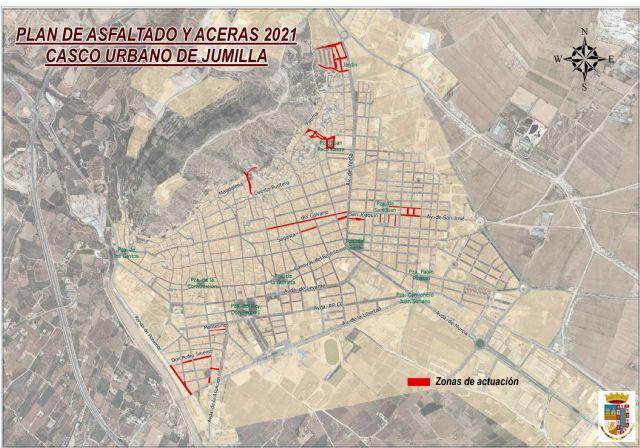 Adjudicadas las obras del Plan de Asfaltado 2021 que mejorarán el firme de 17 calles del casco urbano de Jumilla - 1, Foto 1