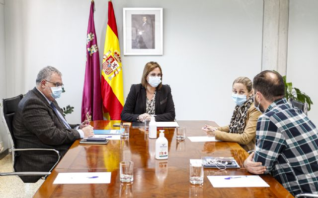 Isabel Franco recibe a la alcaldesa de Cehegín - 1, Foto 1
