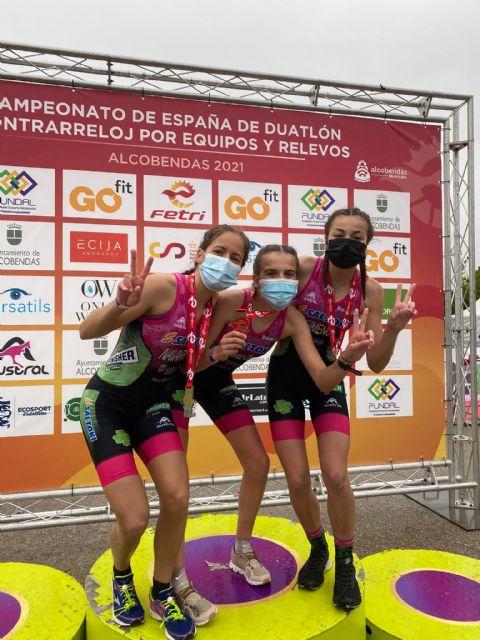 Doblete de Nieves Navarro en Alcobendas proclamándose campeona de España de Duatlón por relevos y Contrarreloj por Equipos - 4, Foto 4