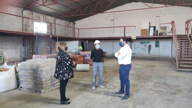 Comienzan los trabajos de reparación del Almacén Municipal - 1, Foto 1