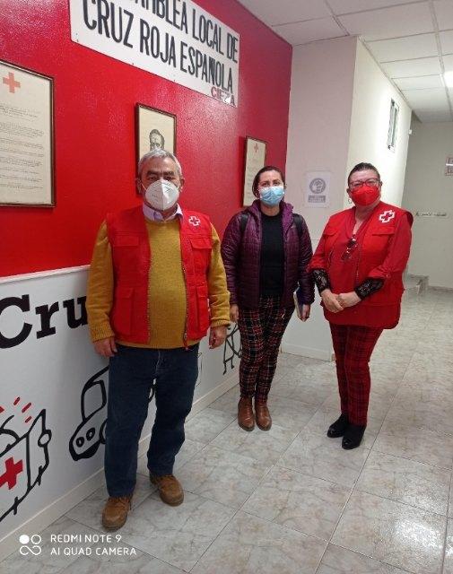 Podemos Cieza se reúne con miembros de Cruz Roja y Cáritas, con el fin de recabar información para un posterior proyecto de desarrollo local - 1, Foto 1