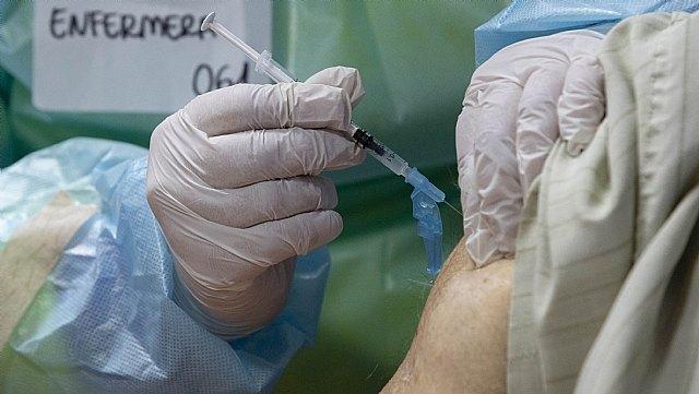[Este jueves se retomará la vacunación masiva en Totana, evitando así el desplazamiento a Lorca