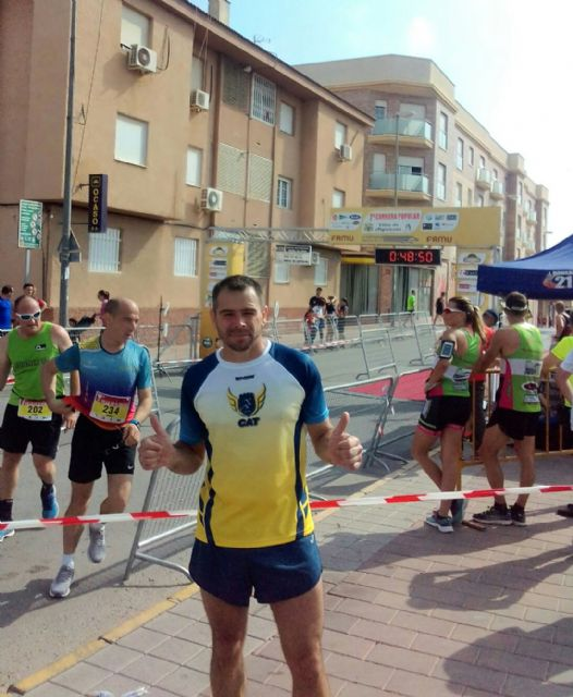 CAT athletes participated in the III Sierro Trail and in the VII Villa de Alguazas Race