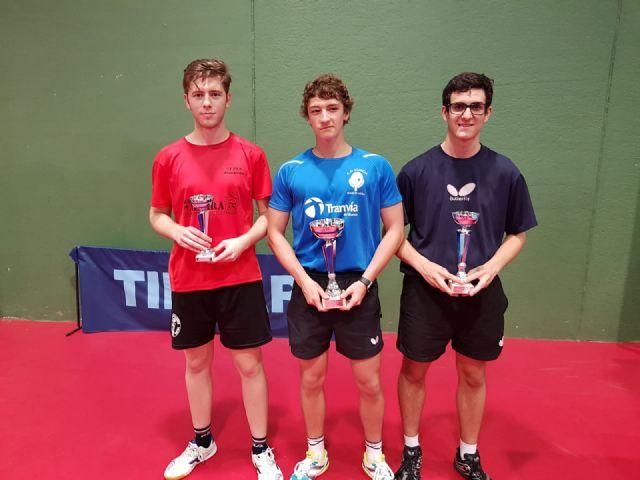 Tres medallas para el Club Tenis de Mesa de Mazarrón en el Campeonato Autonómico de Cartagena celebrado el pasado fin de semana - 1, Foto 1