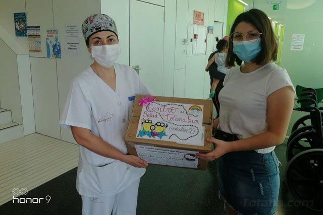 Initiative 125 donates 90 protective screens to Totana Health centers