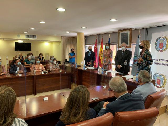 El Colegio de Enfermería nombra como Colegiada de Honor a la aguileña María Dolores García Albarracín - 4, Foto 4