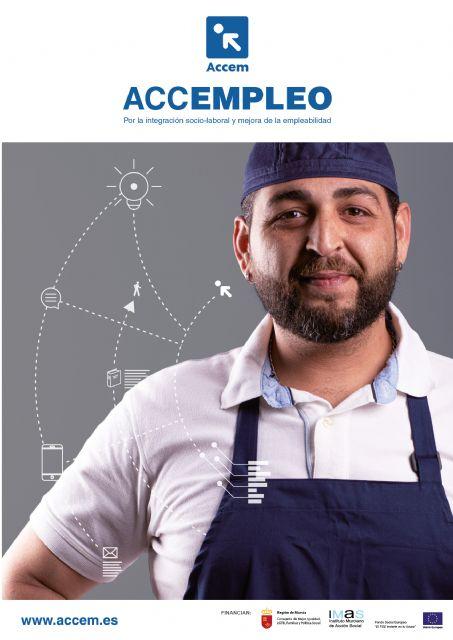 Los programas de empleabilidad de Accem atienden a un total de 131 personas, de las que 29 han encontrado trabajo - 1, Foto 1