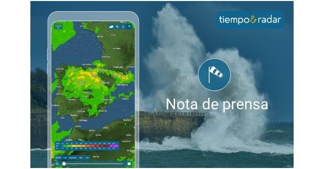 La aplicación Tiempo & Radar incorpora una nueva capa interactiva a su exclusivo radar meteorológico - 1, Foto 1
