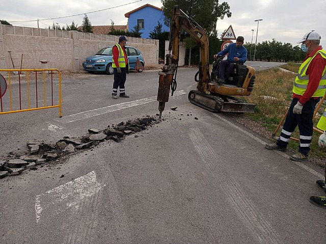 [Brigada municipal: trabajos del 27 de mayo
