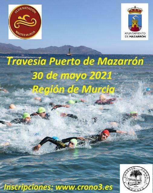 200 nadadores se darán cita en la ´Travesía Puerto de Mazarrón´, Foto 1