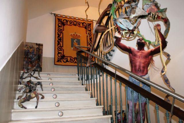 Cortés Abellán muestra Exodos en Casas Consistoriales - 1, Foto 1