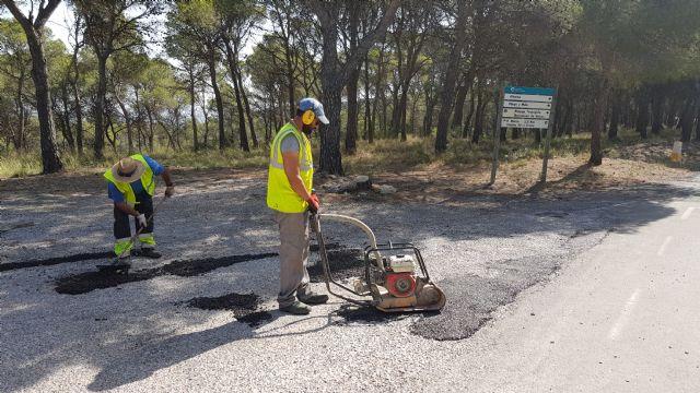 Arreglo urgente de baches en la carretera de las Cuestas del Marqués, Foto 2