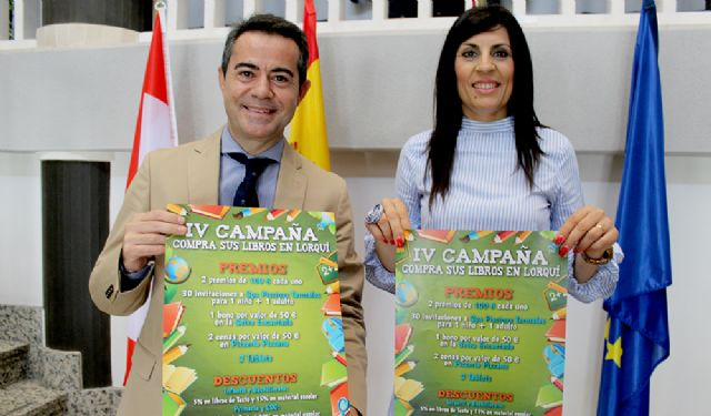 La Concejalía de Comercio pone en marcha la IV campaña 'Compra sus libros en Lorquí' - 1, Foto 1