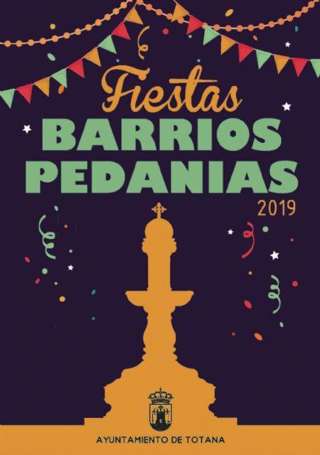 Los meses de julio y agosto congregan la mayoría de la celebración de festejos en barrios y pedanías del verano en Totana