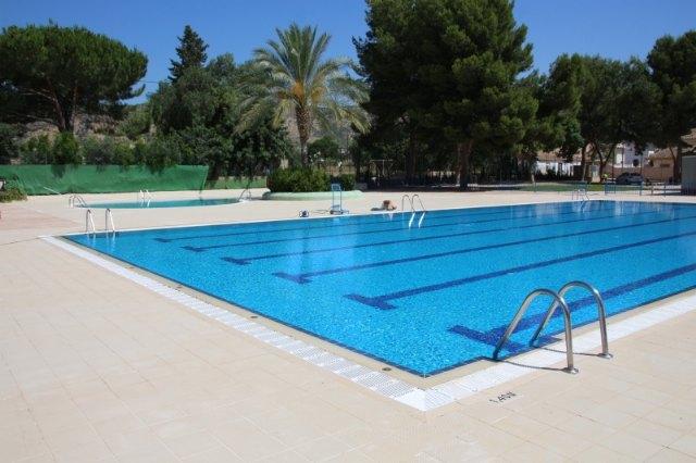 El lunes 29 reabre la piscina de verano y el gimnasio municipal, Foto 1