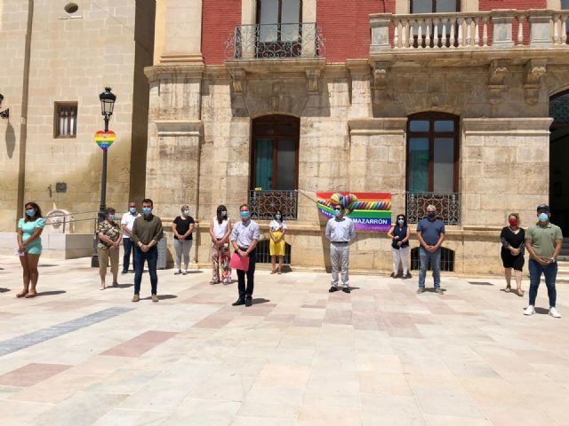 Mazarrón celebra el Día del Orgullo con la lectura del manifiesto en defensa de los derechos LGTBI, Foto 3