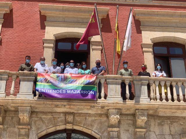 Mazarrón celebra el Día del Orgullo con la lectura del manifiesto en defensa de los derechos LGTBI, Foto 4